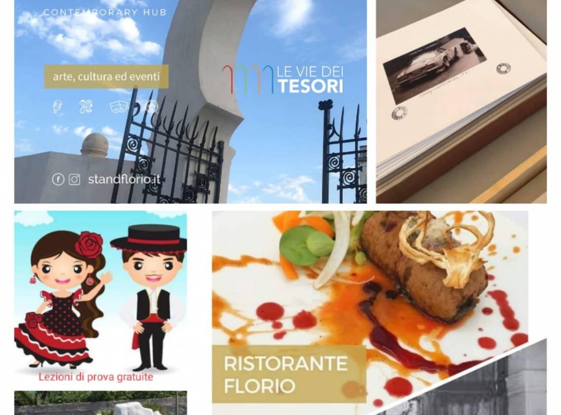 Arte contemporanea e mostre dedicate a Donna Franca e alla Targa Florio