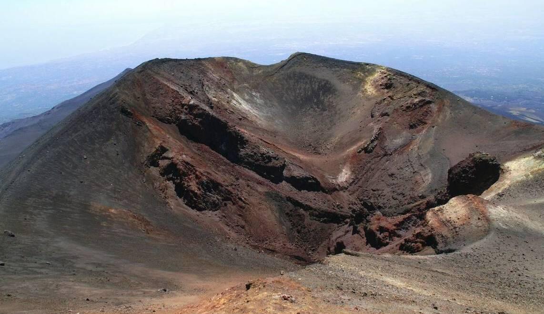 Etna smokes!