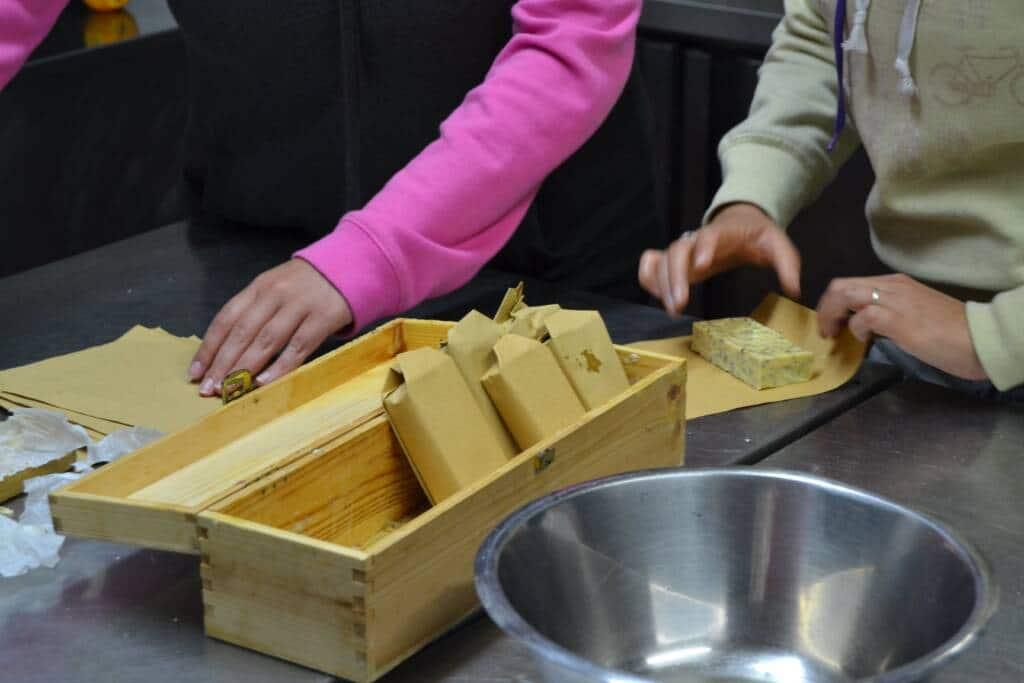 Preparazione del sapone