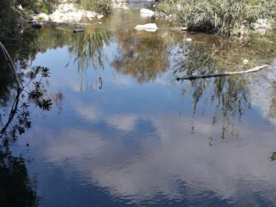 Specchio d\\\'acqua valle dell\\\'Anapo