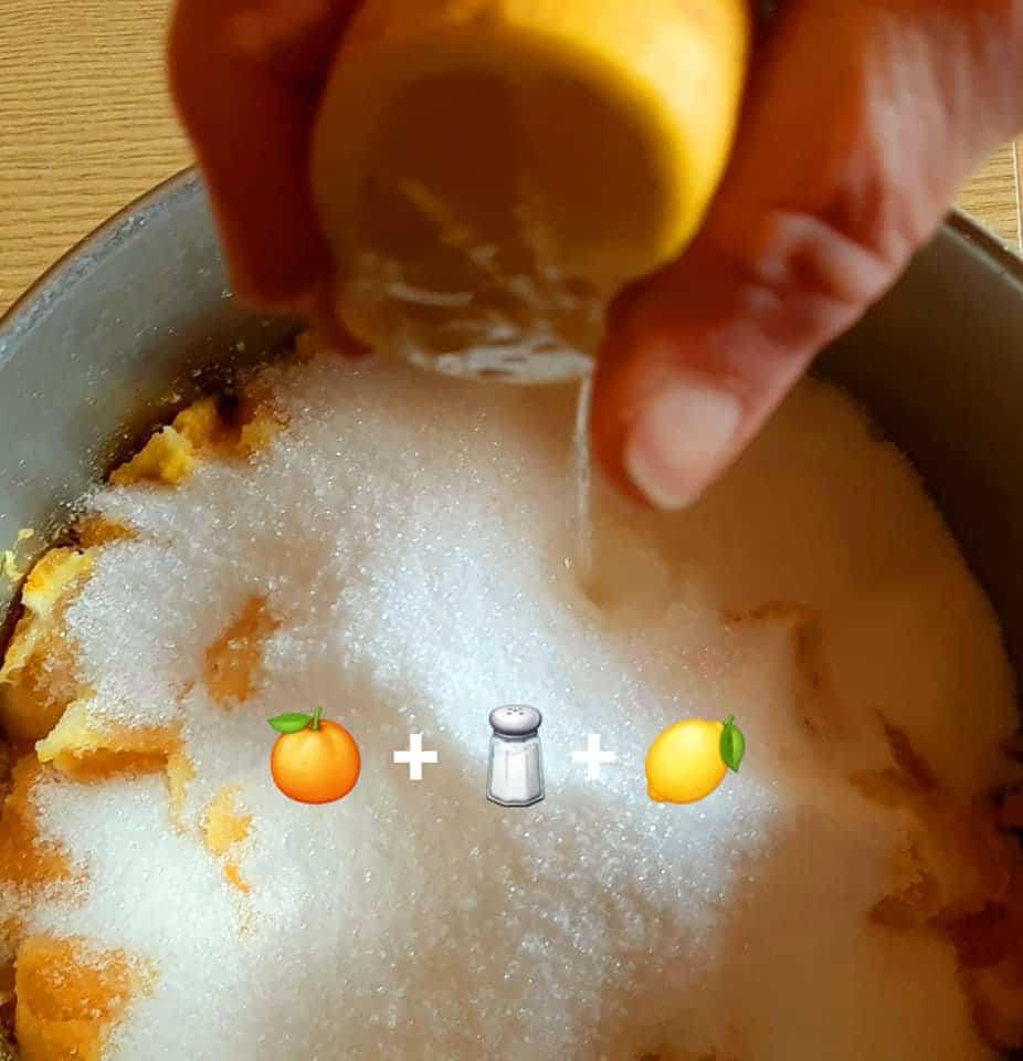 Preparazione del gelato artigianale