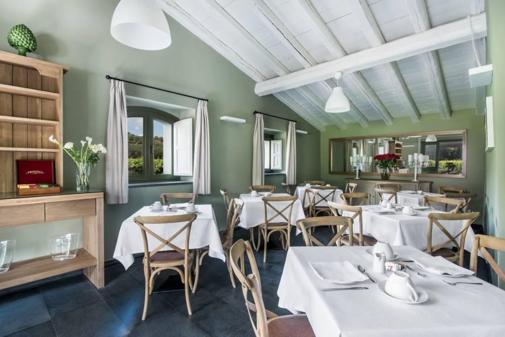 Sala ristorante Cavanera