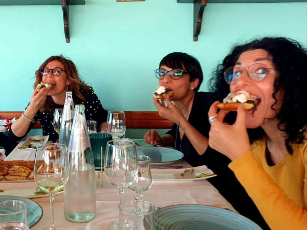 Pranzo in ristorante
