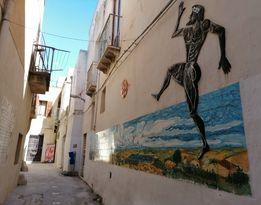 Murales alla Casbah a Mazara del Vallo
