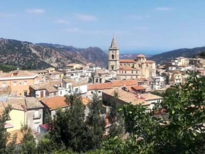 Panorama di Novara di Sicilia