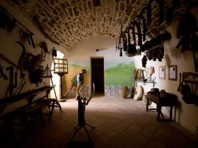Esposizione antichi utensili dei pastori