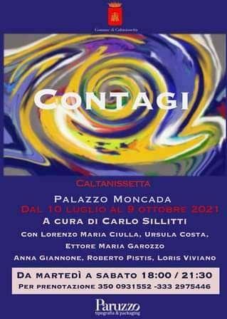 """"""" Contagi"""" Palazzo Moncada Galleria Civica d'Arte"""
