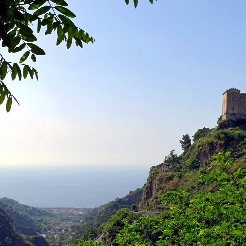 View from Savoca