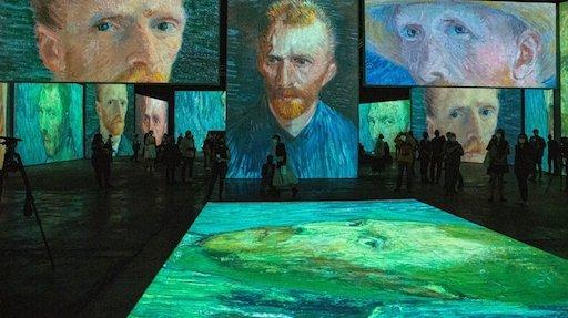 Van Gogh tra musica e colori al Palazzo Bonocore di Palermo